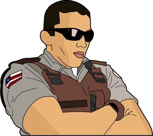 Resultado de imagem para imagem, desenho, plantão de polícia